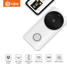 Lojoy wireless IOS Android APP Control WiFi Camera Smart Video Doorbell WIFI Video Door bell