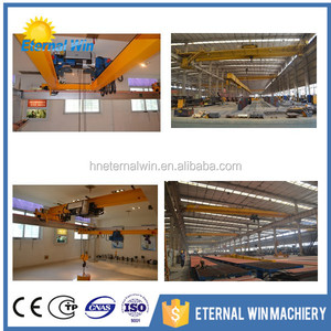 Wareahouse using for electric bridge crane with world level to export many countries