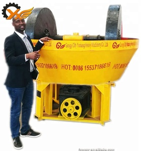 Factory price Simple craft gold processing plant wet pan mill used in Mine mill Popular in Sudan hot sale