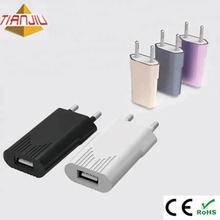 5V 2A Ultra Slim Universal Travel USB Charger With CE Certification