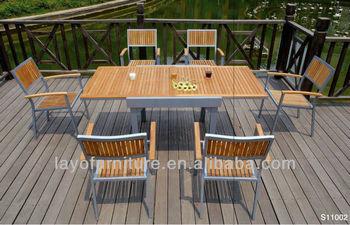 Garten Esstisch Und Stuhl Garten Esstisch Setzt Gebrauchte Teakholz