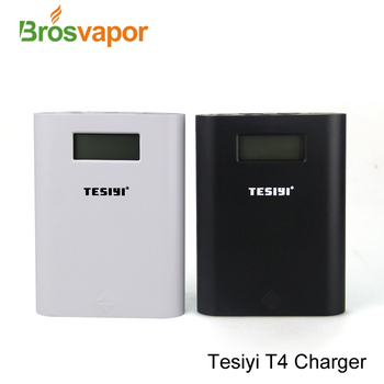 100% Original TESIYI charger power bank TESIYI T4 Charger with 4 bays charger especially for 18650 battery