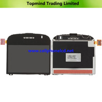Mobile Phone LCD for Blackberry Bold 9000 with Front Glass Screen
