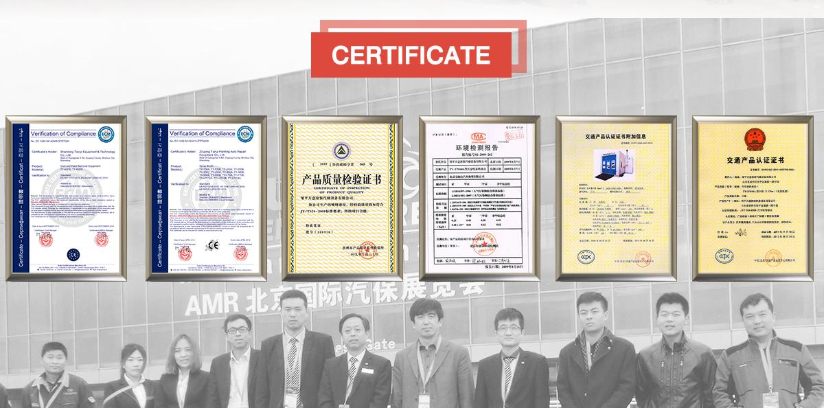 Shandong Tianyi Equipment & Technology Co., Ltd. - Spray booth, Car Lift