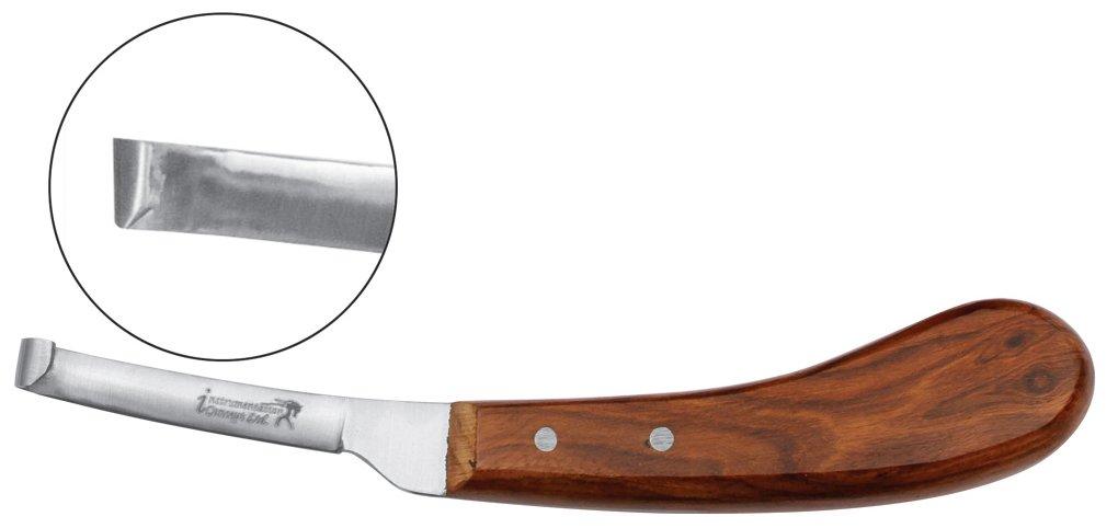 Narrow Blade Farrier Hoof Knife Horse Show Cow Hoof Trimmer Knife Farrier Tools