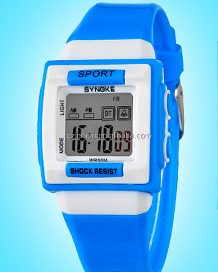 New 2015 Children Sport Watch Alarm Chronograph EL Digital Wrist Watch