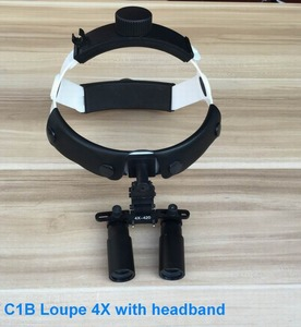 surgical head band loupes magnifier