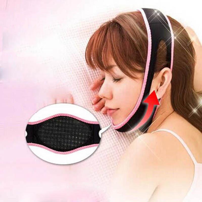 1 Pcs Face Lift Up Belt Sleeping Face Lift Mask Massage Slimming Face Shaper Relaxation Facial
