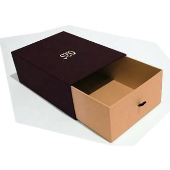 Mewah Desain Sepatu Kotak Kemasan Karton - Buy Sepatu ...