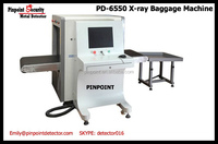 AT-6550 China Security X ray baggage scanner for train station