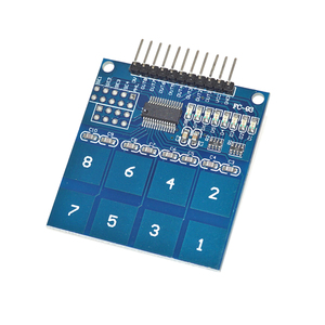 8 channel TTP226 Capacitive touch switch sensor module