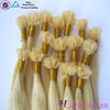 20 Inch New Product Factory Price Wholesale Italy Keratin Glue Nail Tip Hair Extensions