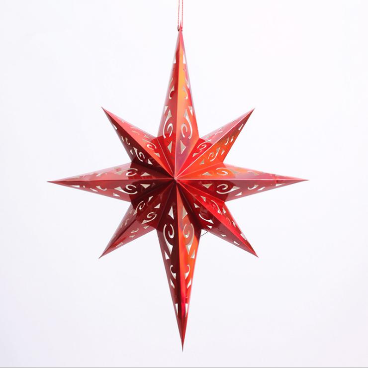 Seven Star Hanging Paper Star Lantern For Christmas Buy