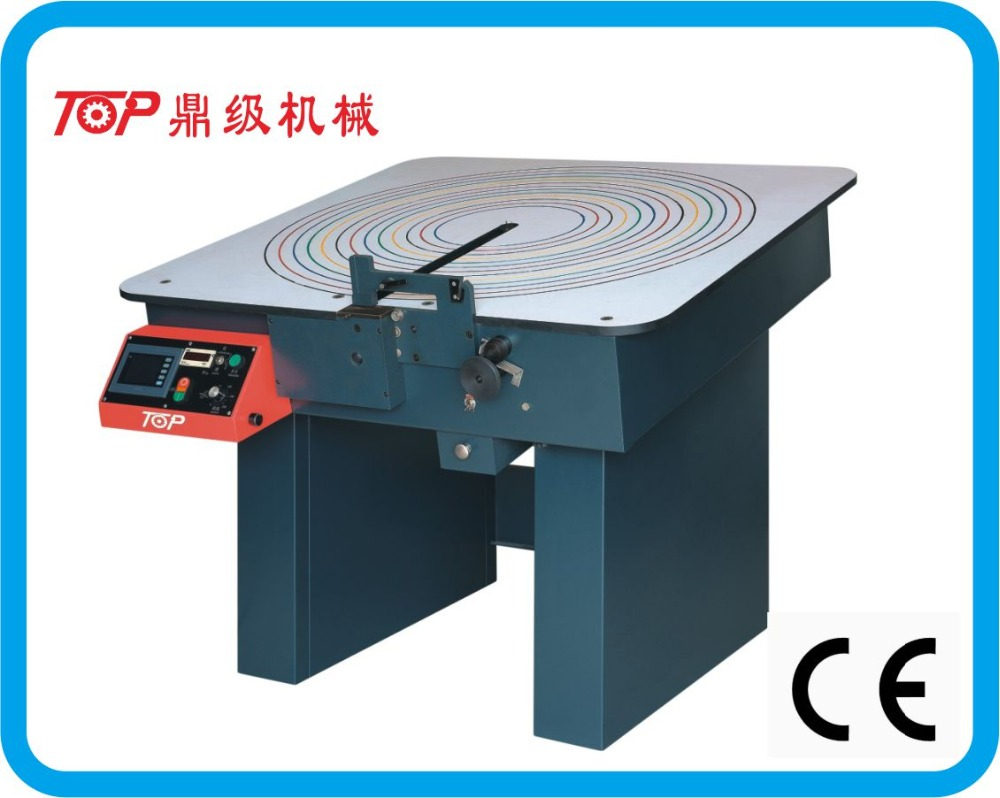 1200*1200mm genuine leather boot lace cutting machine