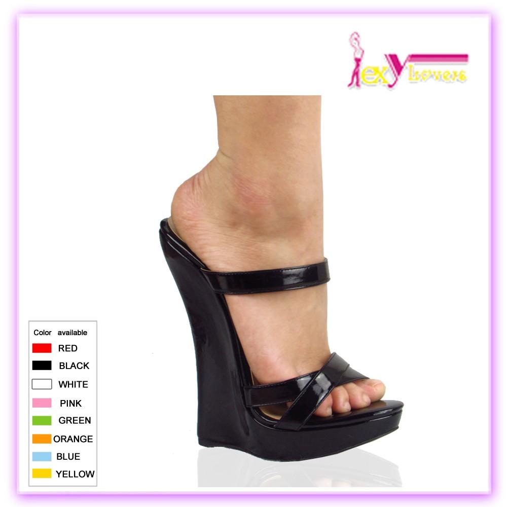 Cuña Tacón Mujer Popular Con Alto De Sandalias Zapatos eBxdCo