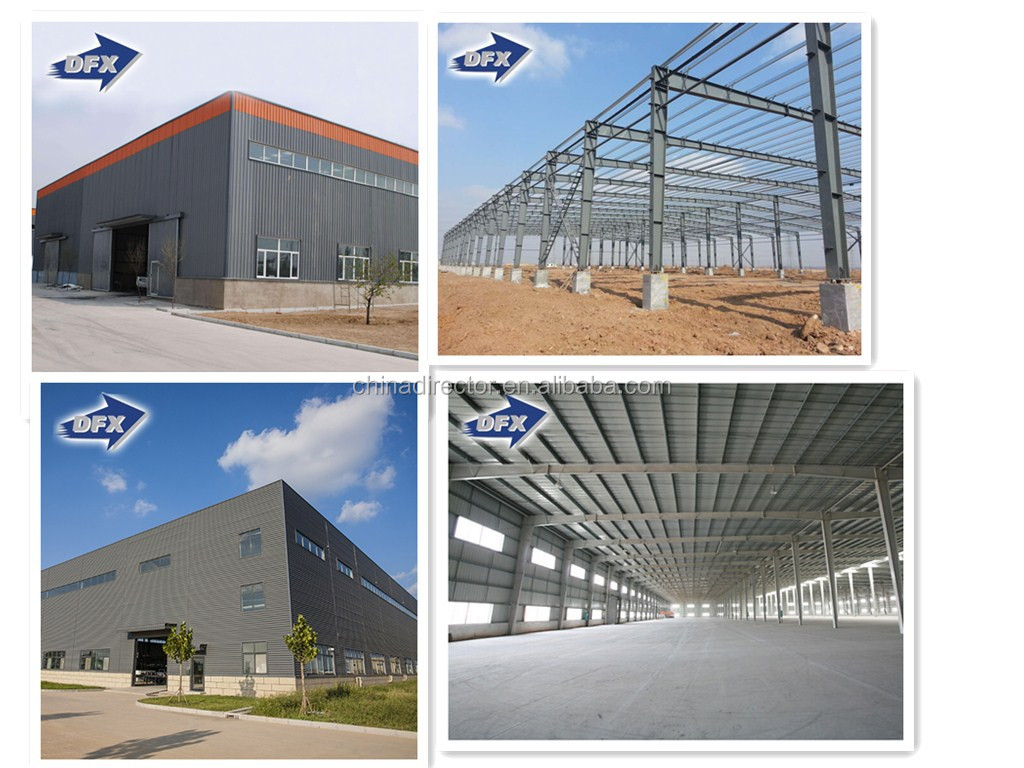 China Factory price manufacturer steel structure workshop fabrication