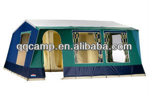 Waterproof Cotton canvas wall family tent high quality tent