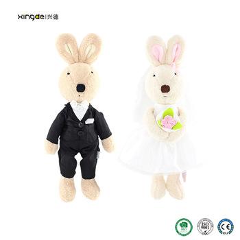 Plush Rabbit Wedding Gift For Newly Married Couple Buy Plush