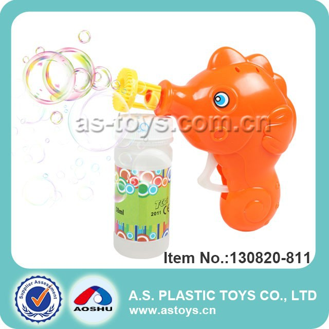58ML plastic bubble gun fish bubble blaster