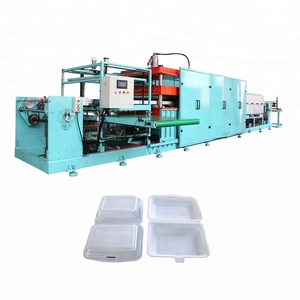 High quality ps foam fast food box vaccum forming machine