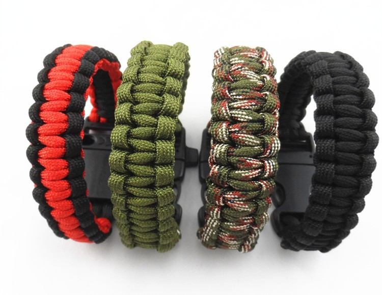 Popular Different Style simple braided parachute cord 550 bracelet