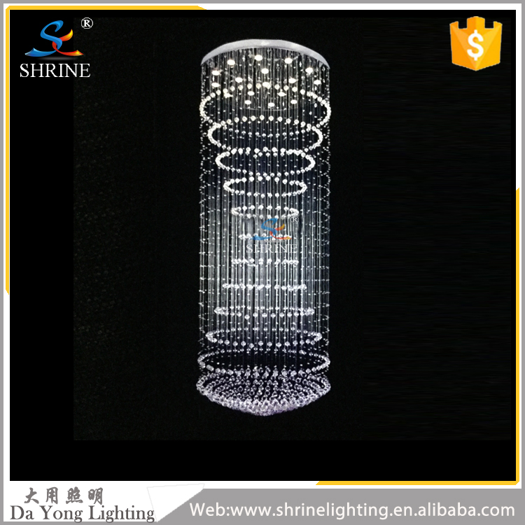 SC0010 Modern Chinese Clear Luxury Crystal Chandelier For Hotel