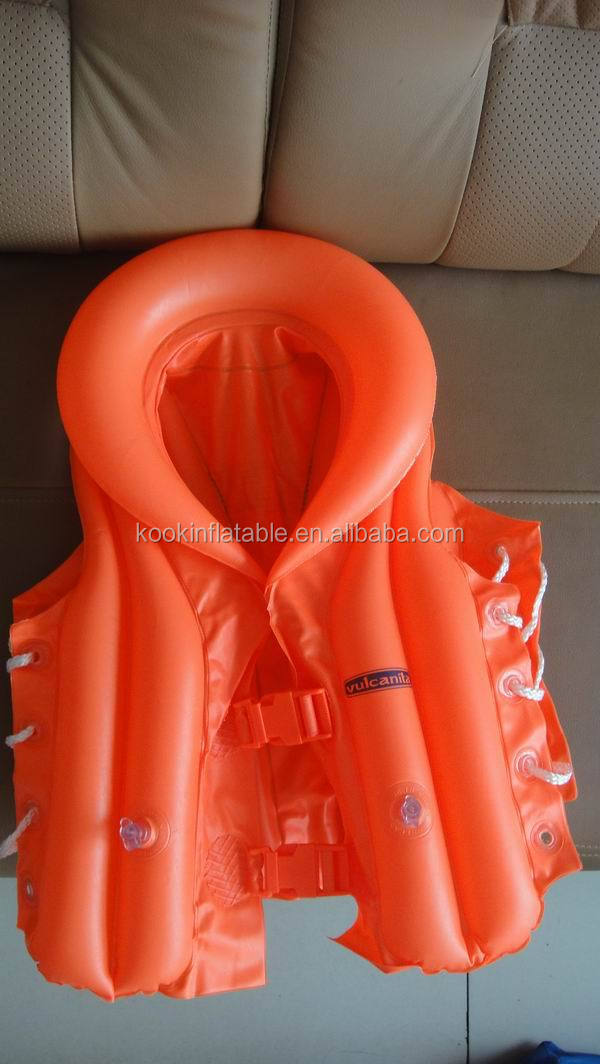 Adult Inflatable Swim Vest Inflatable Swim Suit Pvc Life