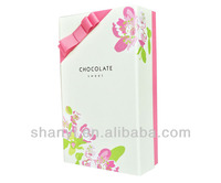 OEM custom Chocolate Muffin Box Handle Paper Good Material Shower Party Birthday Package