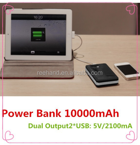High quality OEM ODM accepted power bank charger 10000mah