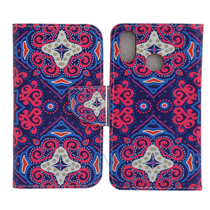 Flip PU Purse smart cover case for samsung galaxy s5
