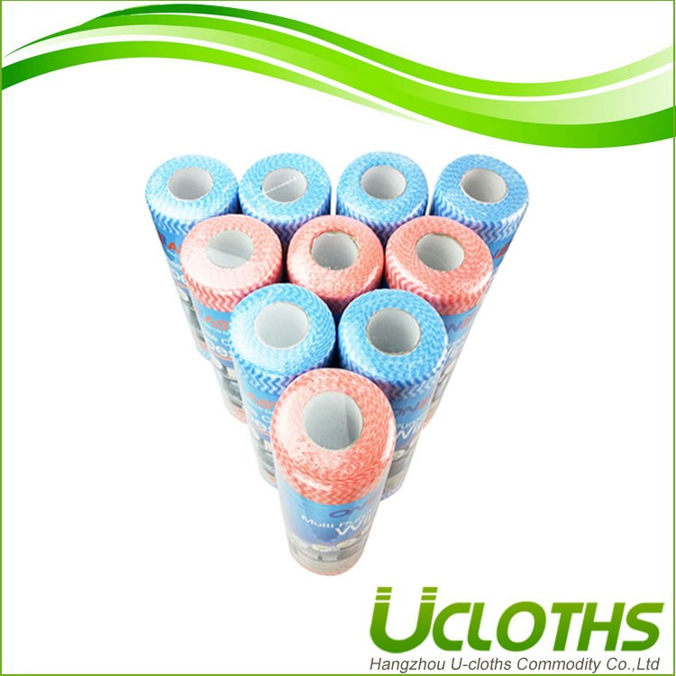 Good absorbant ability household high quality viscose /polyester nonwoven wipes