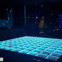 2019 Promotion Night Club Wired Infinite Mirror LED Dance Floor
