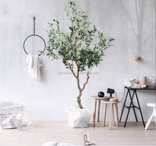 Nordic high-end simulation green artificial olive trees