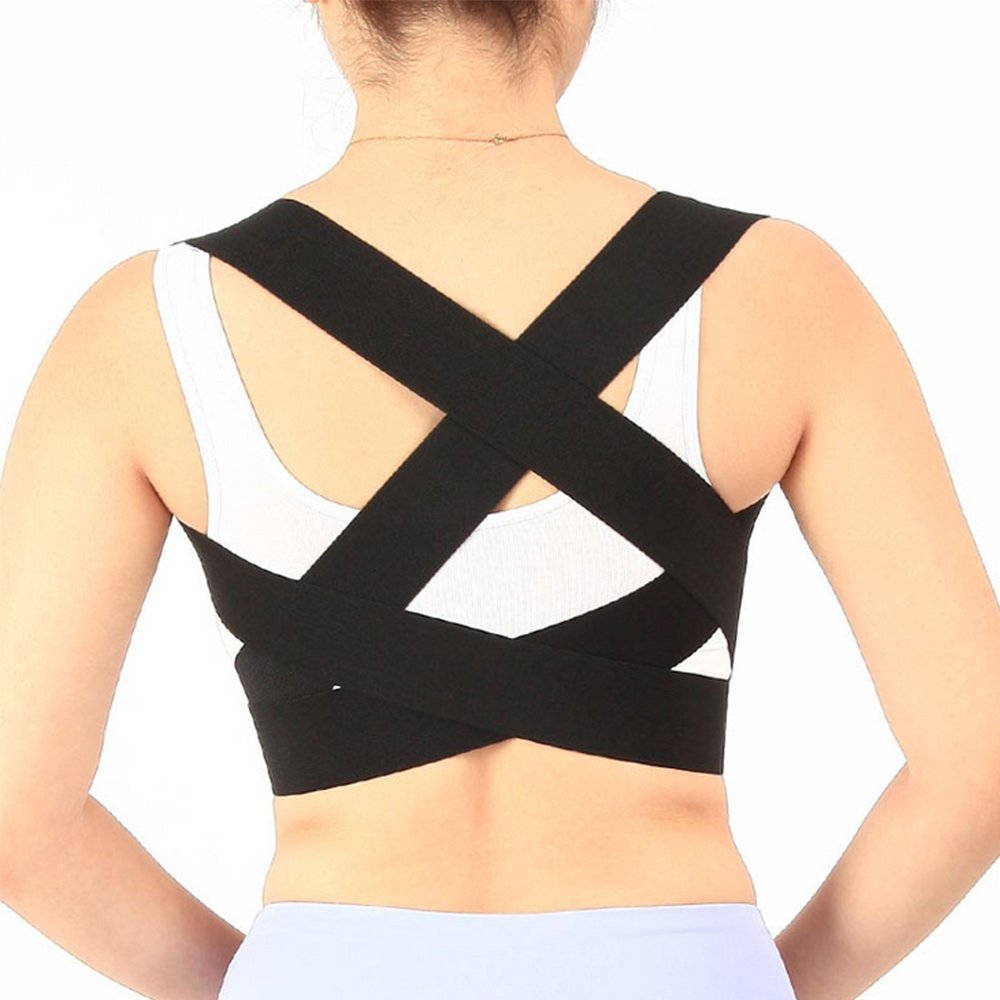 80fe25e9aed2e Get Quotations · XIIYY Posture Corrector Support Brace