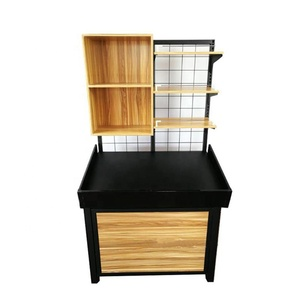 Cabinet Combination Fresh Fruit and Vegetable Wooden Display Rack