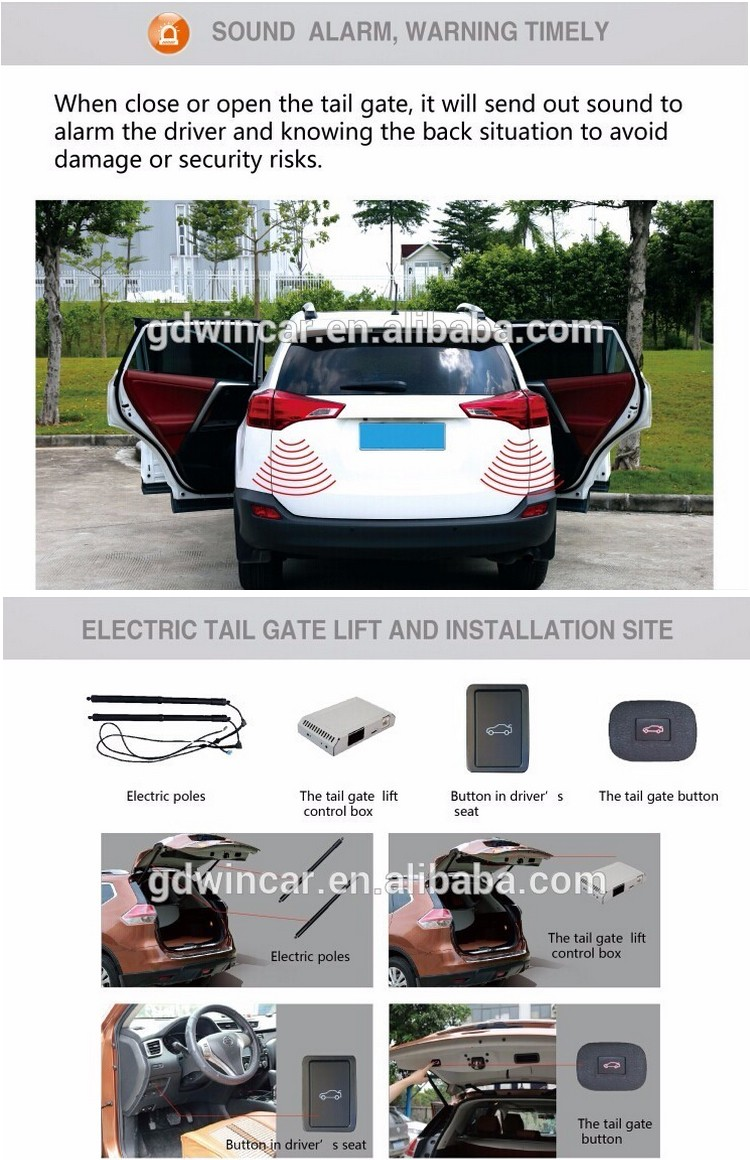 Wholesale Electric auto tailgate lift special for Honda CRV 2013- 2015