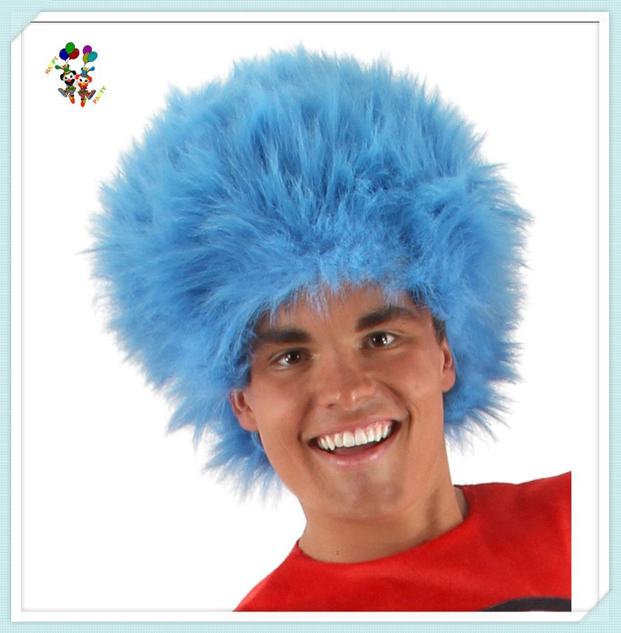Cheap Wholesale Dr Seuss Thing 1and 2 Synthetic Party Wigs HPC-1133