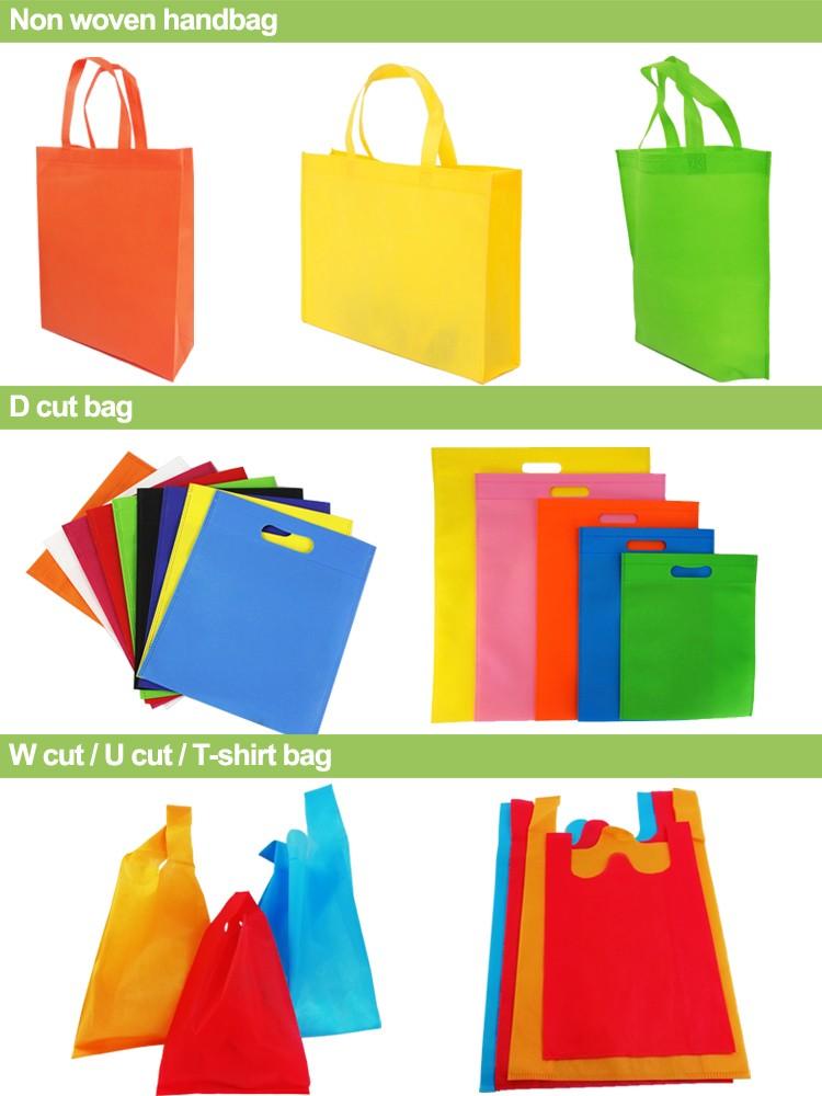 non woven bag types