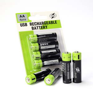 NEW ARRIVAL AA 1.5V 1250mAh rechargeable USB battery batteries