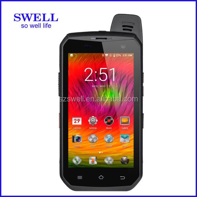 B6000 4G LTE Android 6.0 Octa-core Rugged Phone Support Software PTT