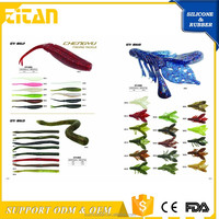 Soft Plastic Artificial fishing tackle supplies