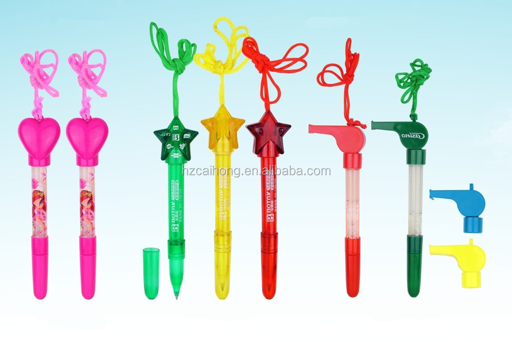 Hot logo pen, bubble balpen met opknoping koord, goede pen voor promotionele en childrenCH6156