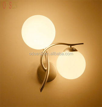 Modern Glass Wall Lamp Living Room/bedroom/hotel Wall Night Lamp