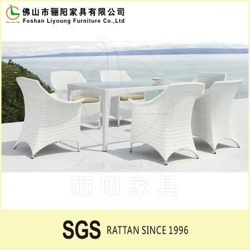 2016 Popular European Outdoor Furniture Garden Dining Set Rattan Furniture