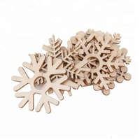 2018 Hot sale wood craft supplies christmas ornaments