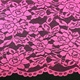 Fan-Shaped Nylon Cotton Polyester Red Rose Design Lace Swiss Voile Lace