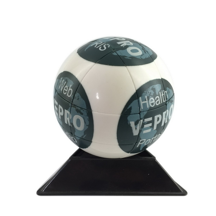 OEM rotate magic plastic 3d puzzle ball
