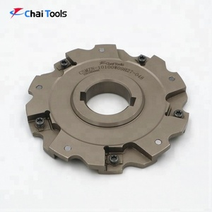 Cutting Tools Hard Metal Milling Cutter Types For CNC Process