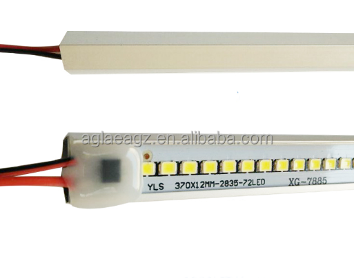Lot 72Leds LED bar light 220V rigid aluminum led hard rigid strip light led rigid bar under cabinet