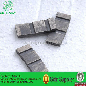 Hard Stone Cutting Granite Diamond Segment Marble Concrete Sandstone Segment Tools Producer